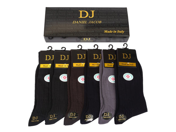 6 100 % Mercerized Cotton Diabetic Socks In  Gift Box