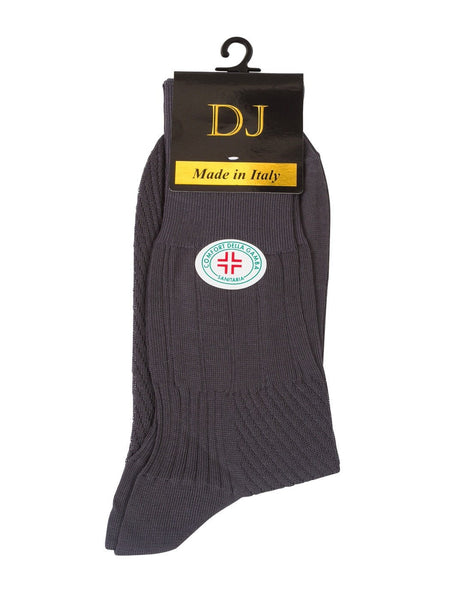 100 % Mercerized Cotton Diabetic Socks Grey Colour