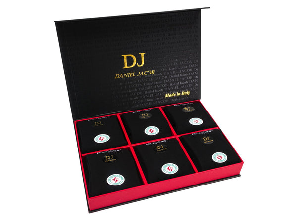 6 Diabetic Socks In Luxury Gift Box Black