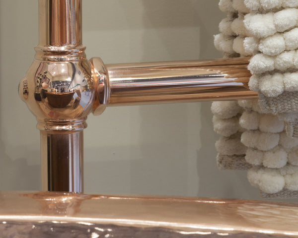 Carron Colossus Horse Steel Towel Rail (Copper Finish) TOW022