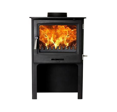 Cast-Tec Horizon Stove & Liner Pack Offer With Log Store