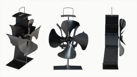 Stove Fan 4 Blade With USB