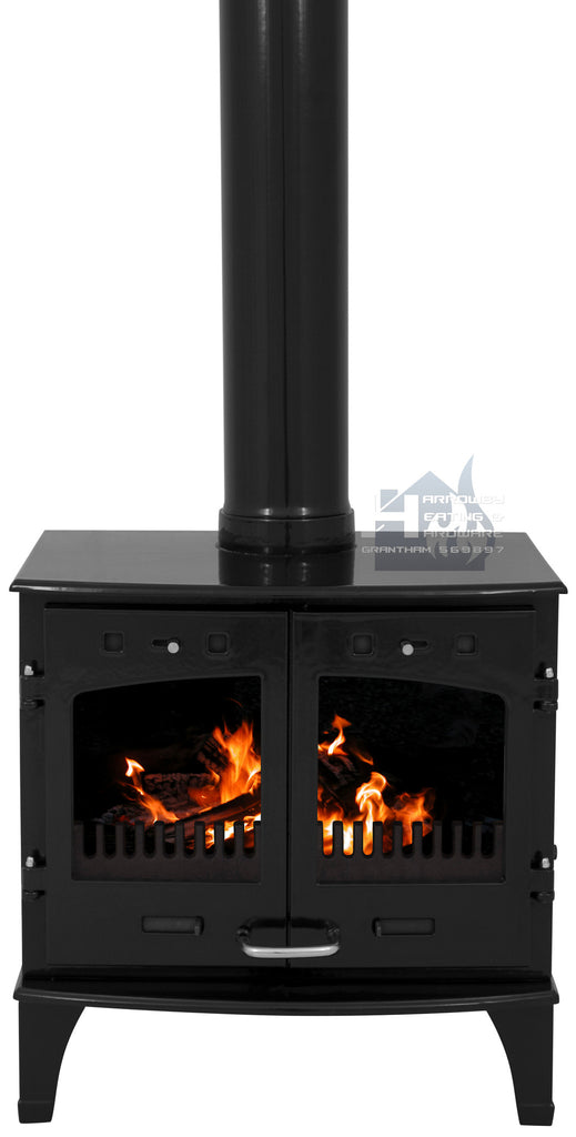 Carron 11KW Black Enamel Cast Iron Stove Promotion