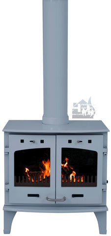 Carron 11KW China Blue Enamel Cast Iron Stove Promotion