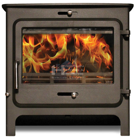 EKOL CLARITY 12KW DEFRA STOVE LOW & HIGH