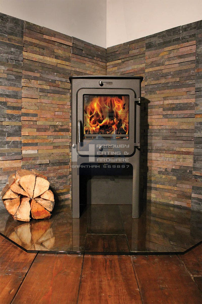EKOL CLARITY 8KW HIGH DEFRA STOVE PROMOTION
