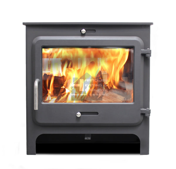 EKOL CLARITY VISION MULTI FUEL 5KW DEFRA STOVE