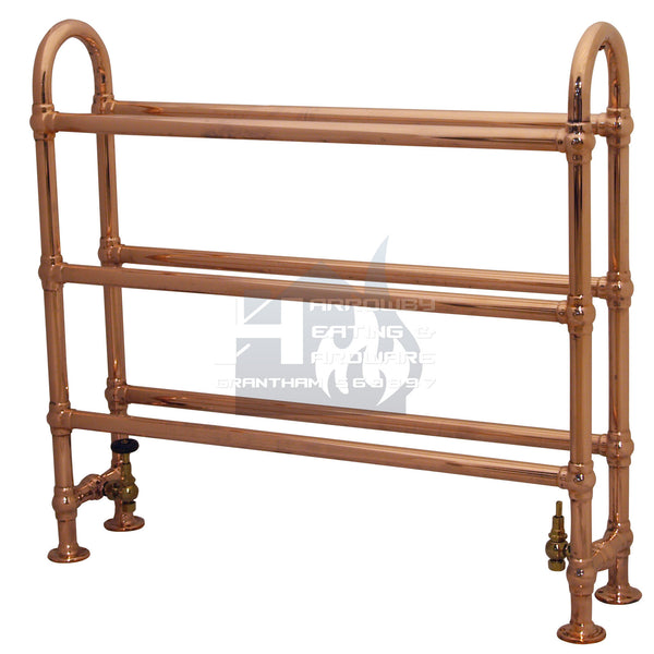 Ermine Horse Steel Towel Rail - 910mm (Copper Finish) QSS031