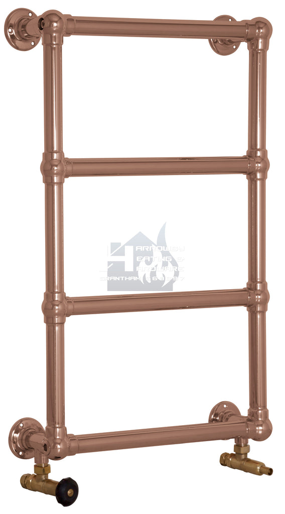 Carron Bassingham Steel Towel Rail (Copper Finish) QSS056