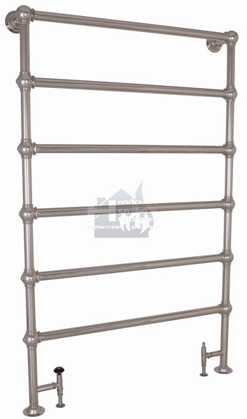 Colossus Steel Towel Rail - 1800mm x 1150mm (Nickel Finish)