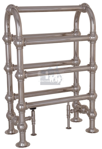 Colossus Horse Steel Towel Rail - 935mm x 625mm (Nickel Finish) TOW121