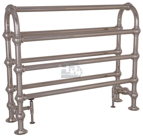 Colossus Horse Steel Towel Rail (Nickel Finish) TOW024