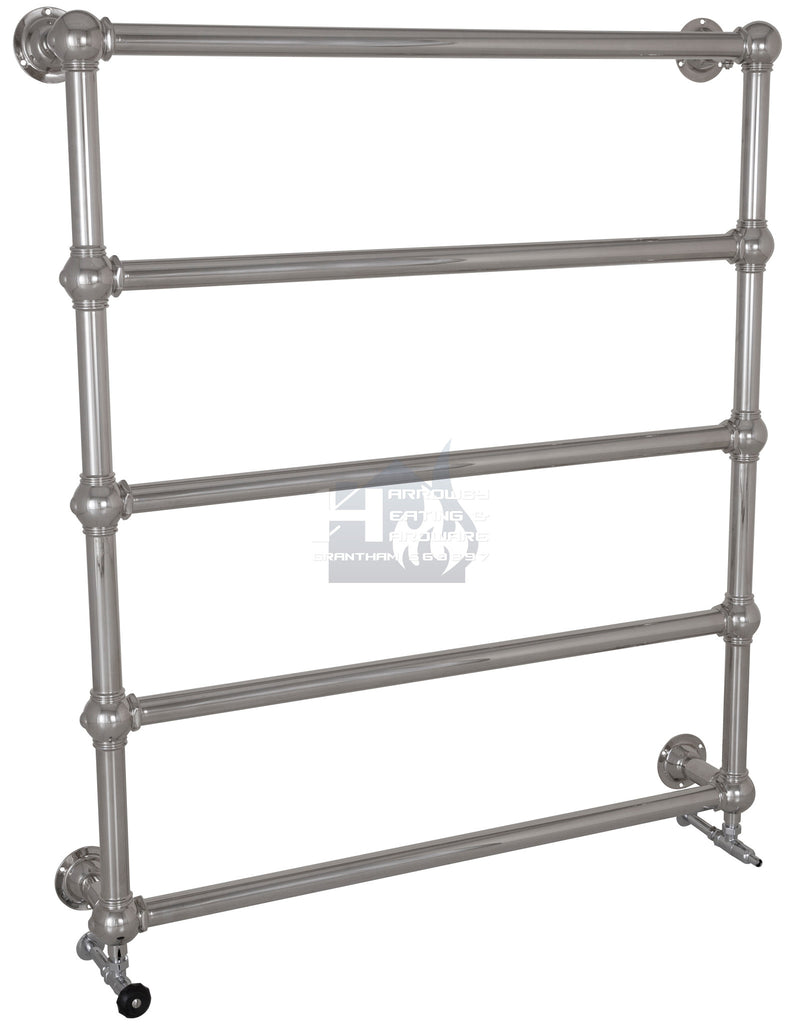 Colossus Steel Wall Mounted Towel Rail - 1300mm x 1150mm (Chrome Finish) TOW035