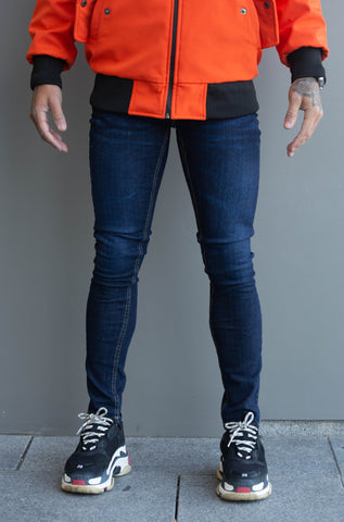 Skinny Navy Denim