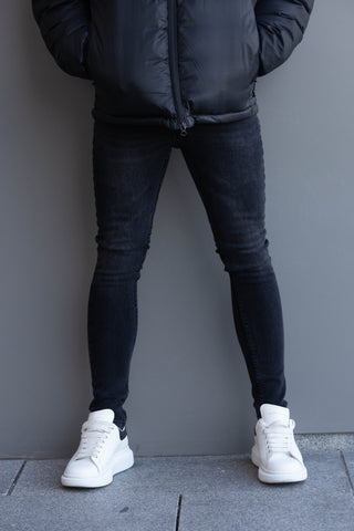 Black & Grey Denim