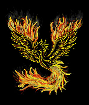 The Phoenix was known to be a majestic bird-like creature that lived in Paradise. The Phoenix, like all other creatures who live in Paradise, was known to live a good life. It was a land of unimaginable perfection and beauty and was said to exist somewher