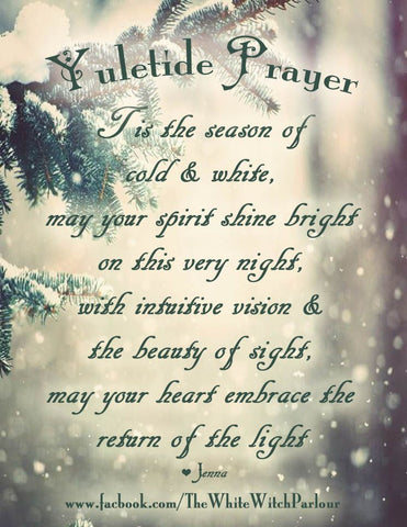 Yule was not just a one-day Celebration  Yule is a 12 day holiday, it begins on 'Mothers Night' (December 21st) and ends 12 days later on 'Yule Night' (January 1st).