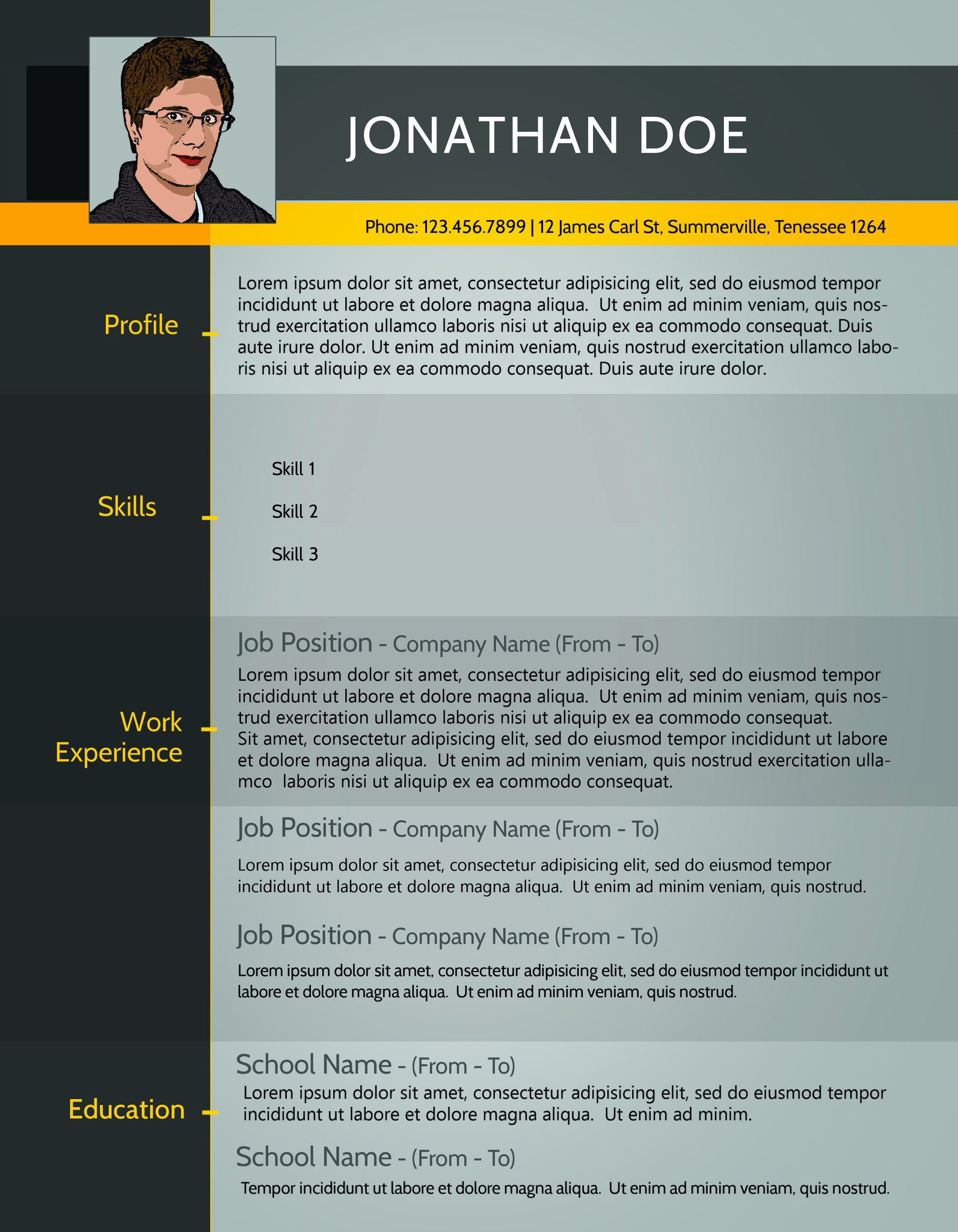 Resume 013 Resumes Experts