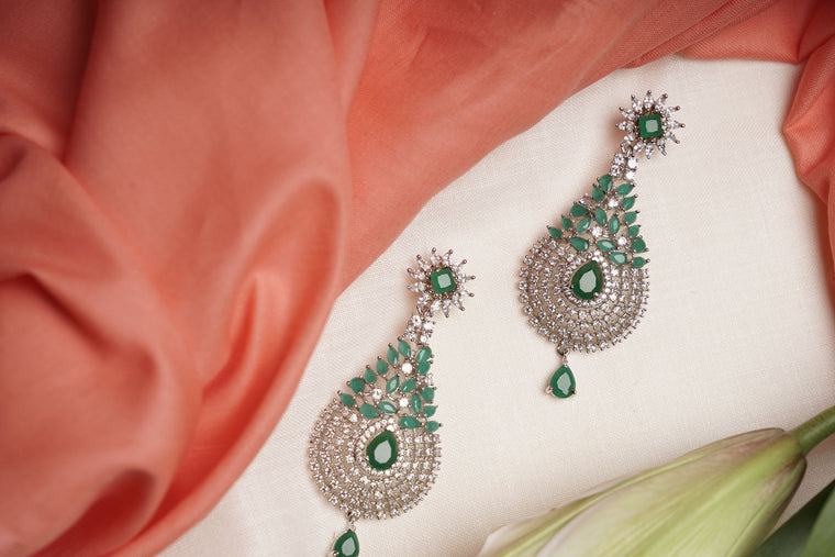 Cz Malini earrings