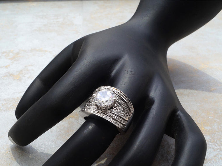 Classy cocktail ring