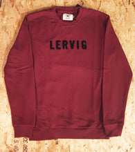 SWEATSHIRT BLACK / BURGUNDY