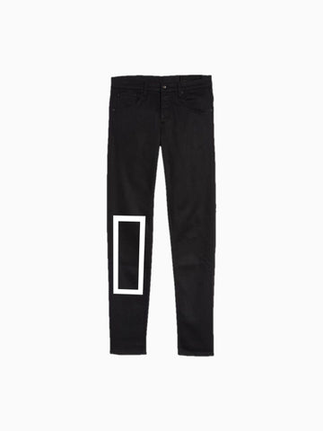 """BOX"" Black Denim"