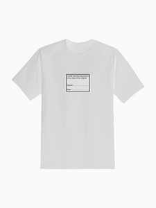 """I CERTIFY THAT"" Tee"
