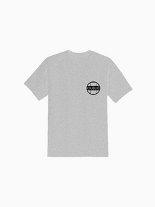 "Grey ""Oublie"" Staple Tee"