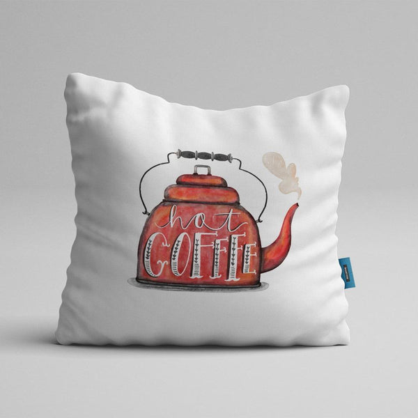 Hou Cushion Cover Hot Coffee