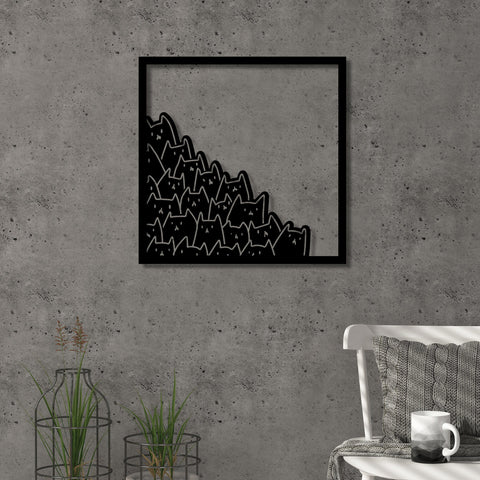 Meow Decorative Wall Accessory