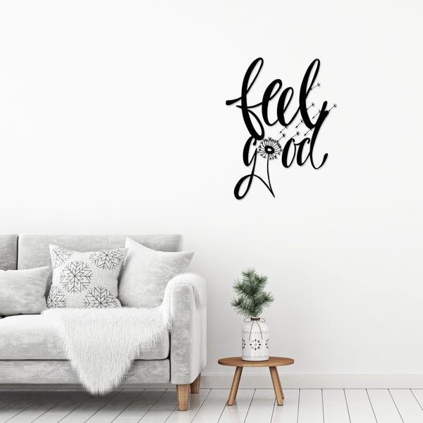 Metal Wall Art No: 36 FeelGood