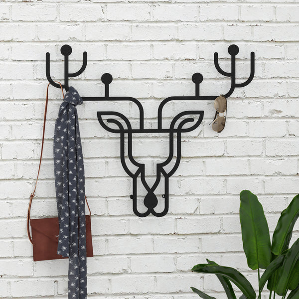Metal Hanger Deer