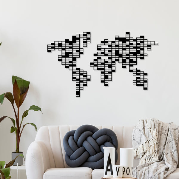 Metal Wall Art Pixel