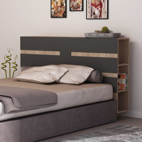 Eddo Headboard With Cabinets