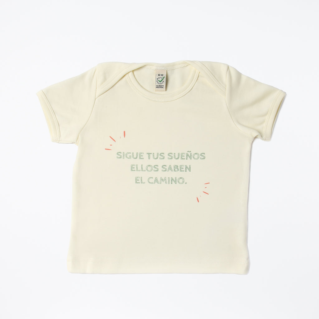 Camiseta tipo body lemon - Kidmi