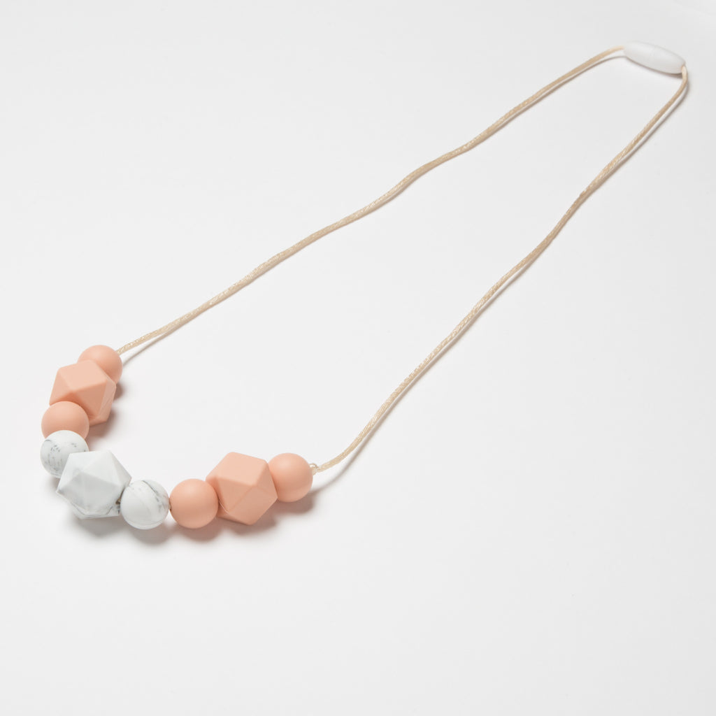 Collar Marble + Peach - Kidmi