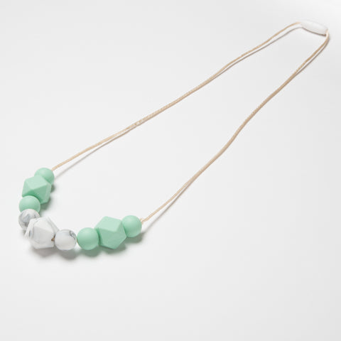 Collar Marble + Mint - Kidmi