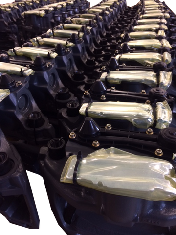 Brake calipers ready to dispatch