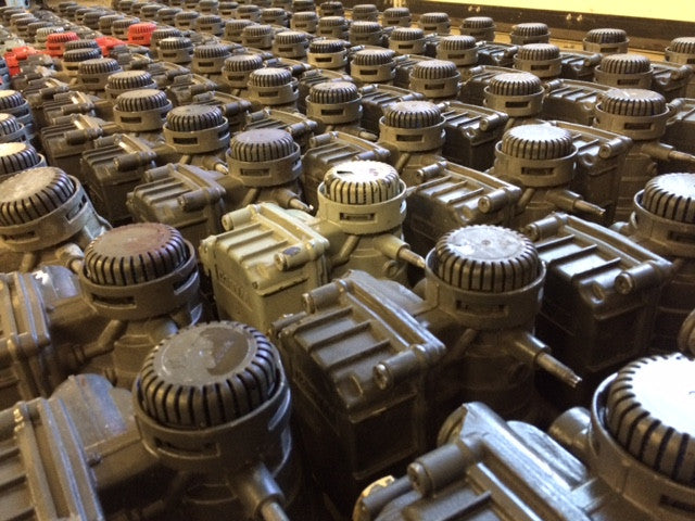 Used Knorr-Bremse and Wabco Valves