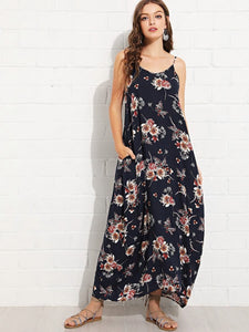 Side pocketed Maxi dress