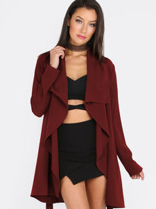 Deep Red Coat