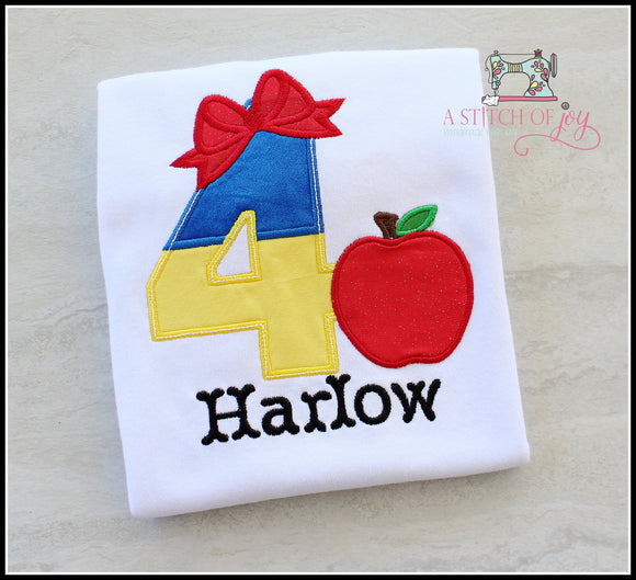 Snow White (Inspired) Birthday Shirt
