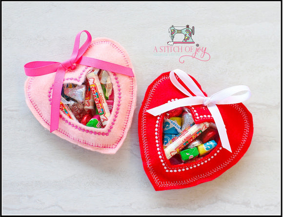Heart Valentine Treat Bags