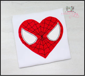Spidey (Inspired) Heart