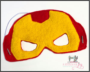 Iron Man (Inspired) Felt Mask