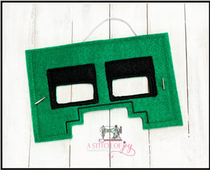 Creeper (Inspired) Felt Mask