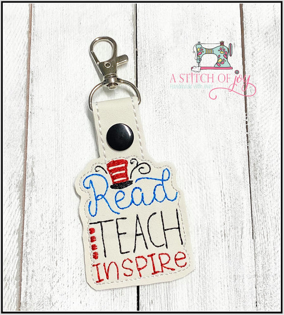 Reach, Teach, Inspire Key Fob