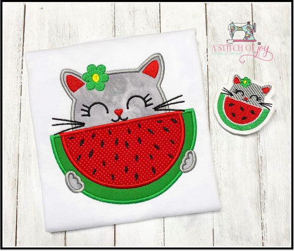 Kitty & Watermelon