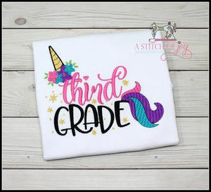 Pre-K thru 6th Grade Unicorn