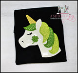 Unicorn with Shamrock